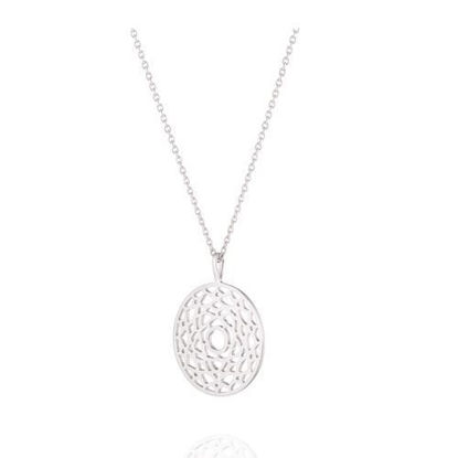 Picture of Crown Charka Necklace in Silver