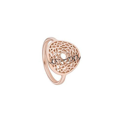 Picture of Crown Chakra Ring in Rose Gold