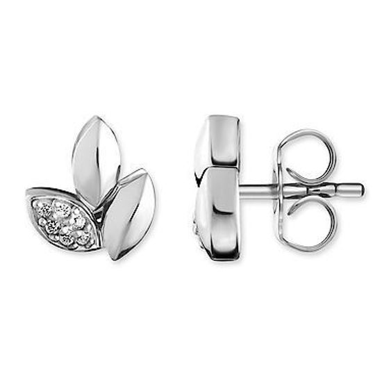 Picture of Leaf Diamond Earrings