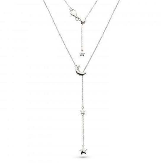 "Picture of Miniature Sparkle CZ Twilight Lariat 18"" Necklace"