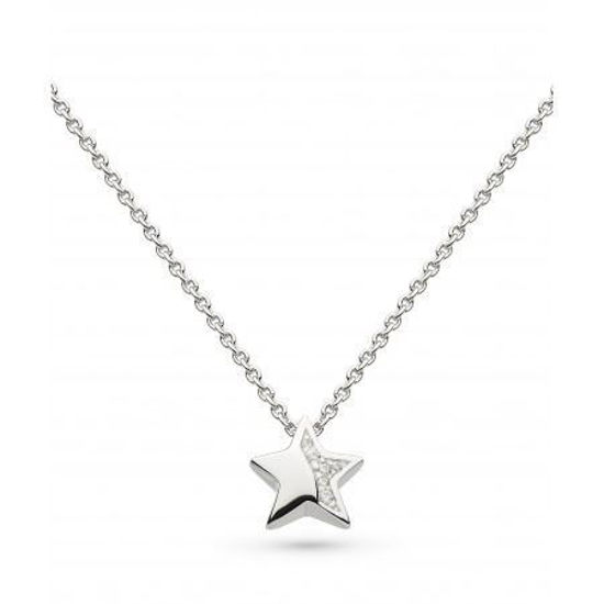 """Picture of Miniature Sparkle CZ Shining Star 17"""" Necklace"""