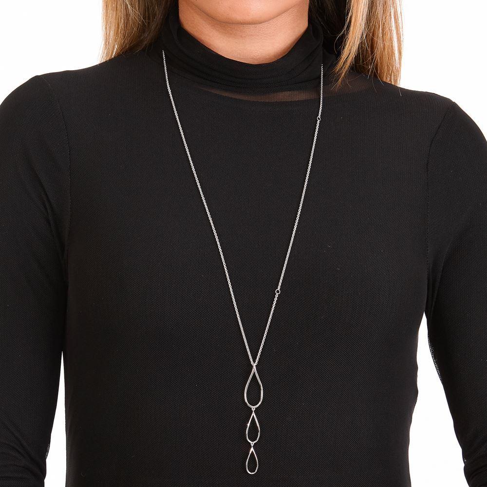 Picture of Tri Petal Long Pendant