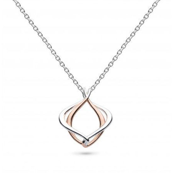 Picture of Entwine Alicia Small Rose Gold Plate Necklace