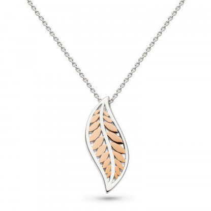 Picture of Blossom Eden Blush Leaf Necklace
