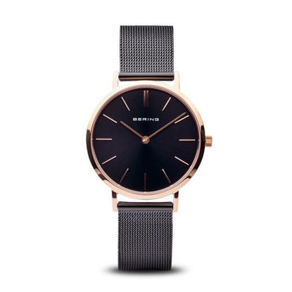 Picture of Bering Ultra Slim Black and Rose Watch