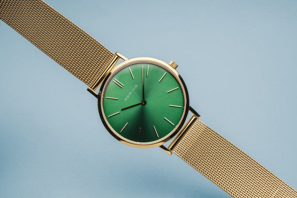 Picture of Bering Gold with Green Dial Watch