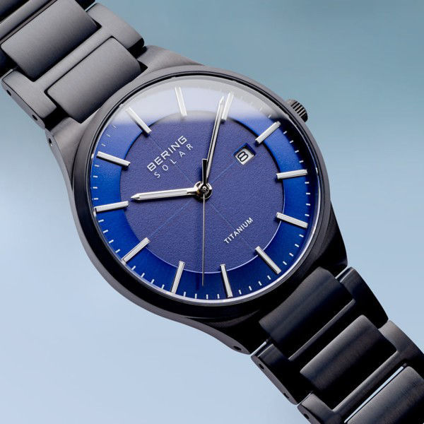Picture of Bering Solar Titanium Black Watch