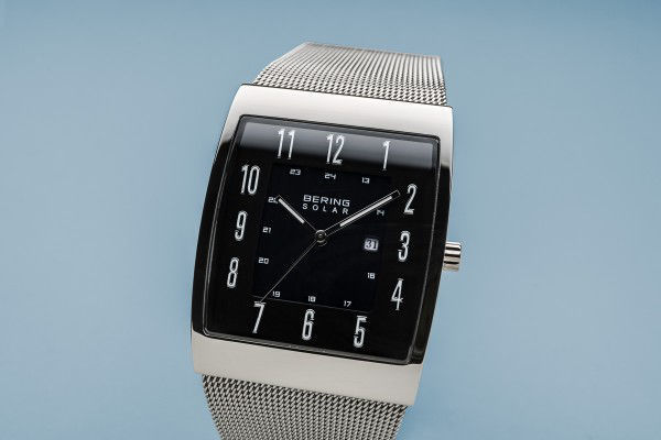 Picture of Bering Solar Silver Square Watch