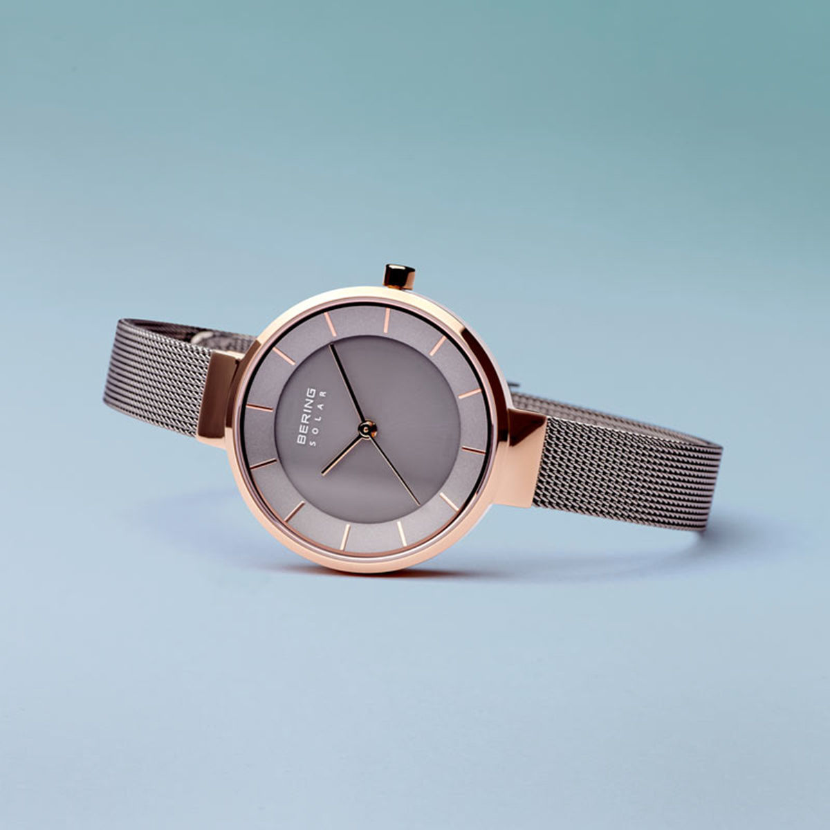 Picture of Bering Solar Thin Grey Watch