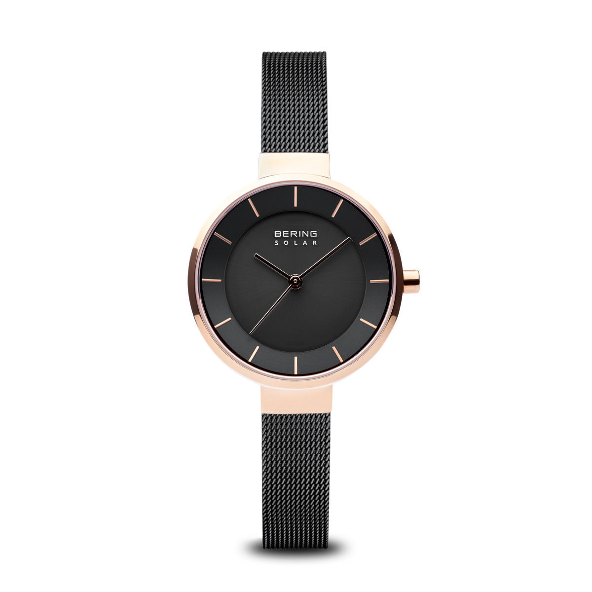Picture of Bering Solar Thin Black Watch