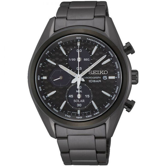 Picture of Seiko Black Chronograph Watch