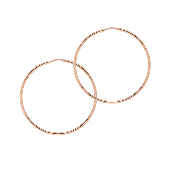 Picture of The Hoop Station La Chica Latina Rose Gold 53mm