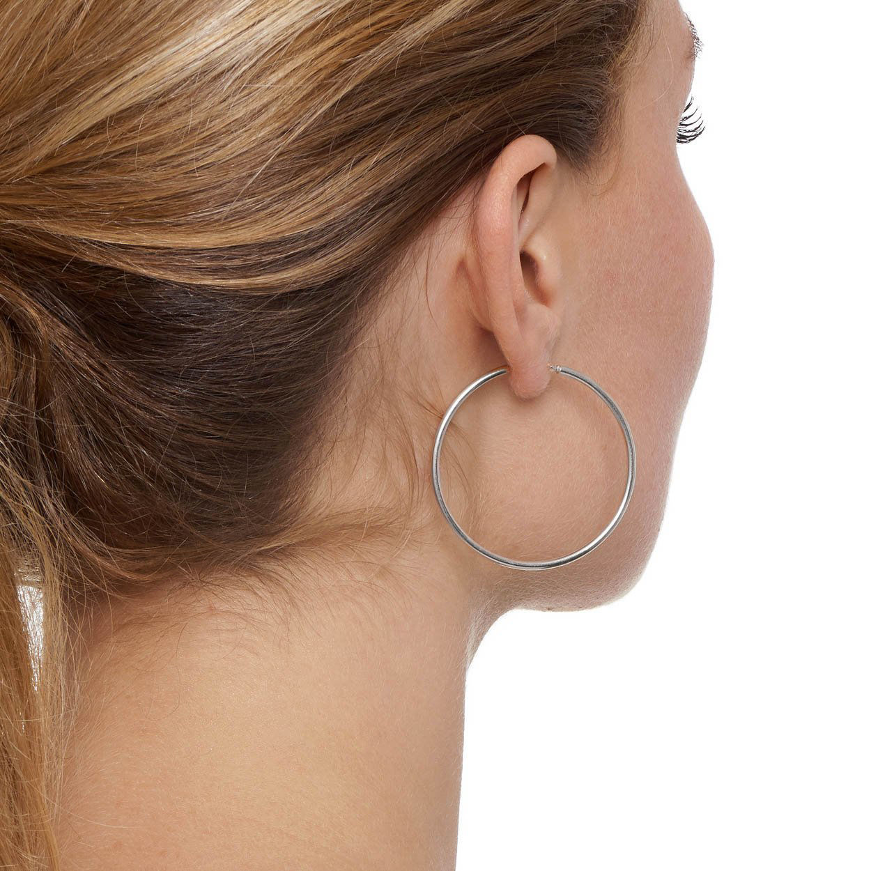 Picture of The Hoop Station La Chica Latina Silver 42mm