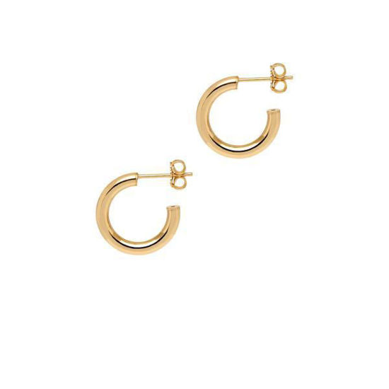 Picture of The Hoop Station La Napoli Gold 17.5mm