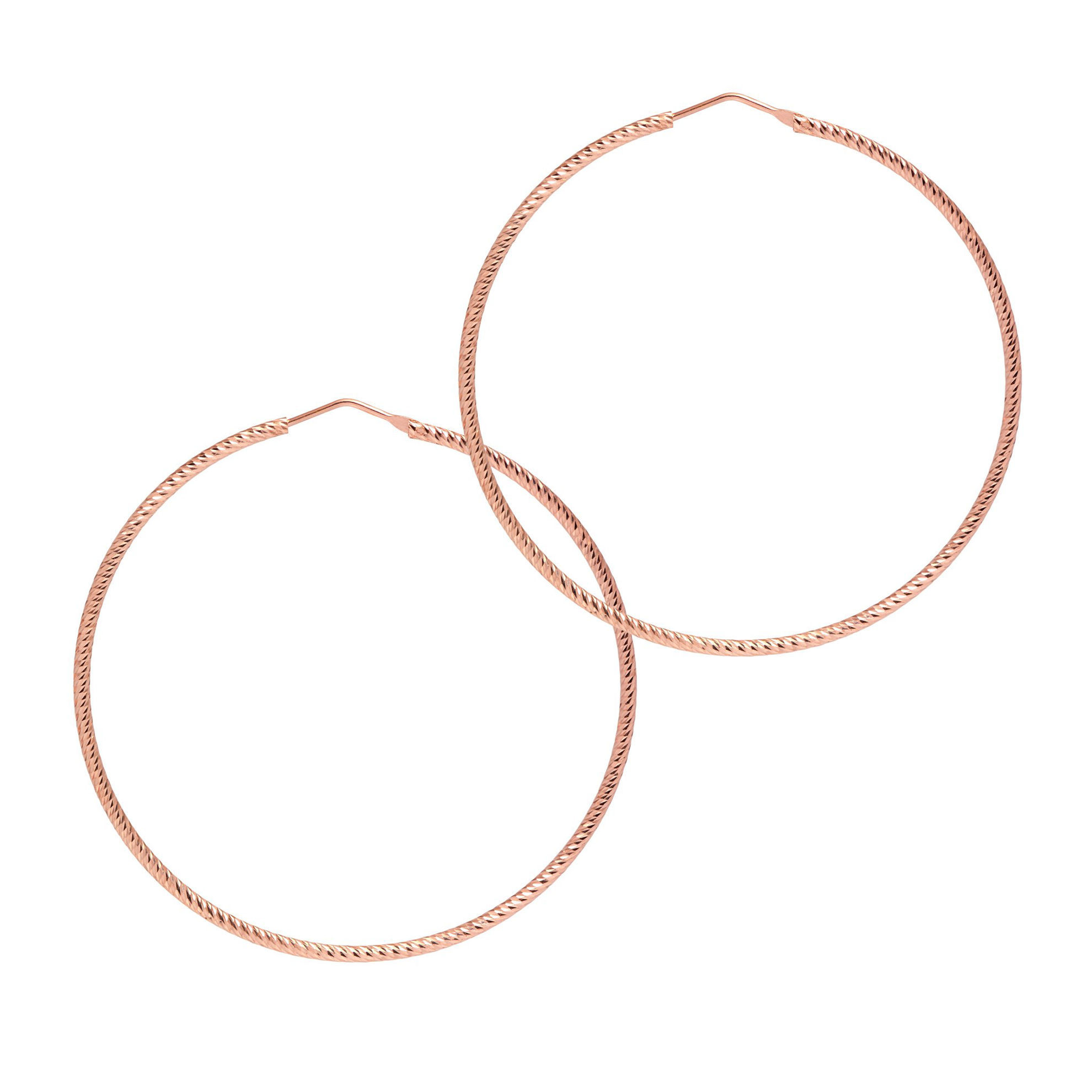 Picture of The Hoop Station La Roma Rose Gold 63mm