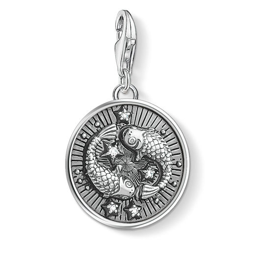 Picture of Piscies Zodiac Sign Charm