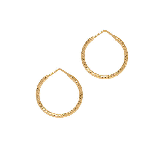 Picture of The Hoop Station La Roma in Gold 24mm
