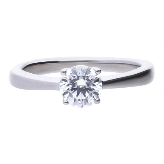 Picture of 1ct Four Claw Solitaire Ring