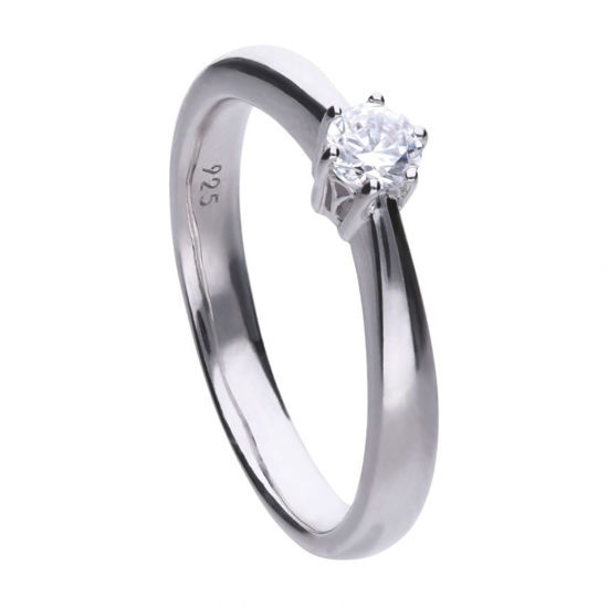 Picture of Solitaire 0.25ct Claw Set Ring