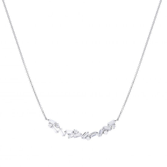 Picture of Baguette Scatter Necklace