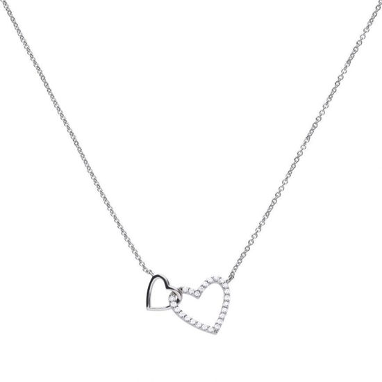 Picture of Interlinked Heart Necklace