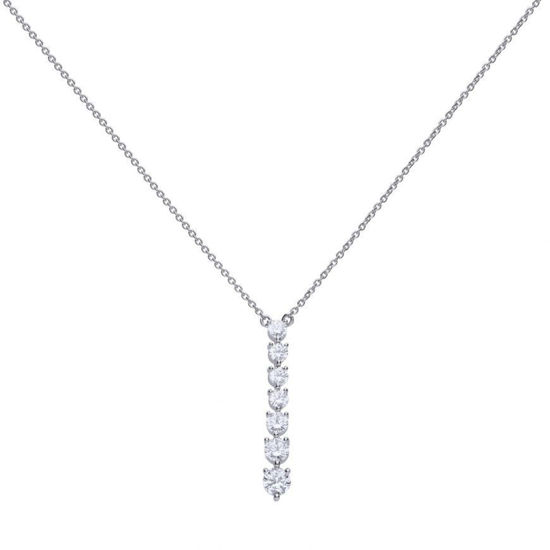 Picture of Drop Claw Set Collier Necklace