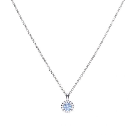 Picture of Sky Blue Zirconia Pave Pendant