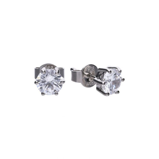 Picture of 1.5ct Solitaire Six Claw Set Stud Earrings