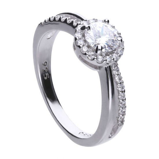 Picture of Round 1.01 Ct Split Band Ring