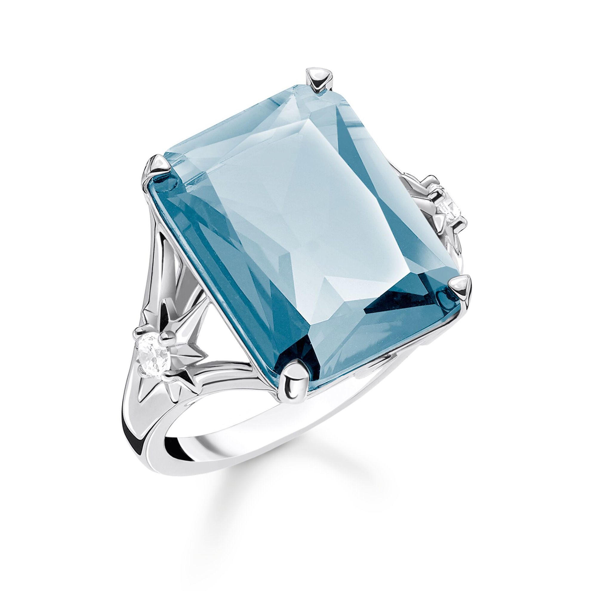 Picture of Large Blue Stone Ring
