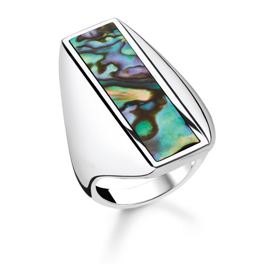 Picture of Abalone Mother of Pearl Ring