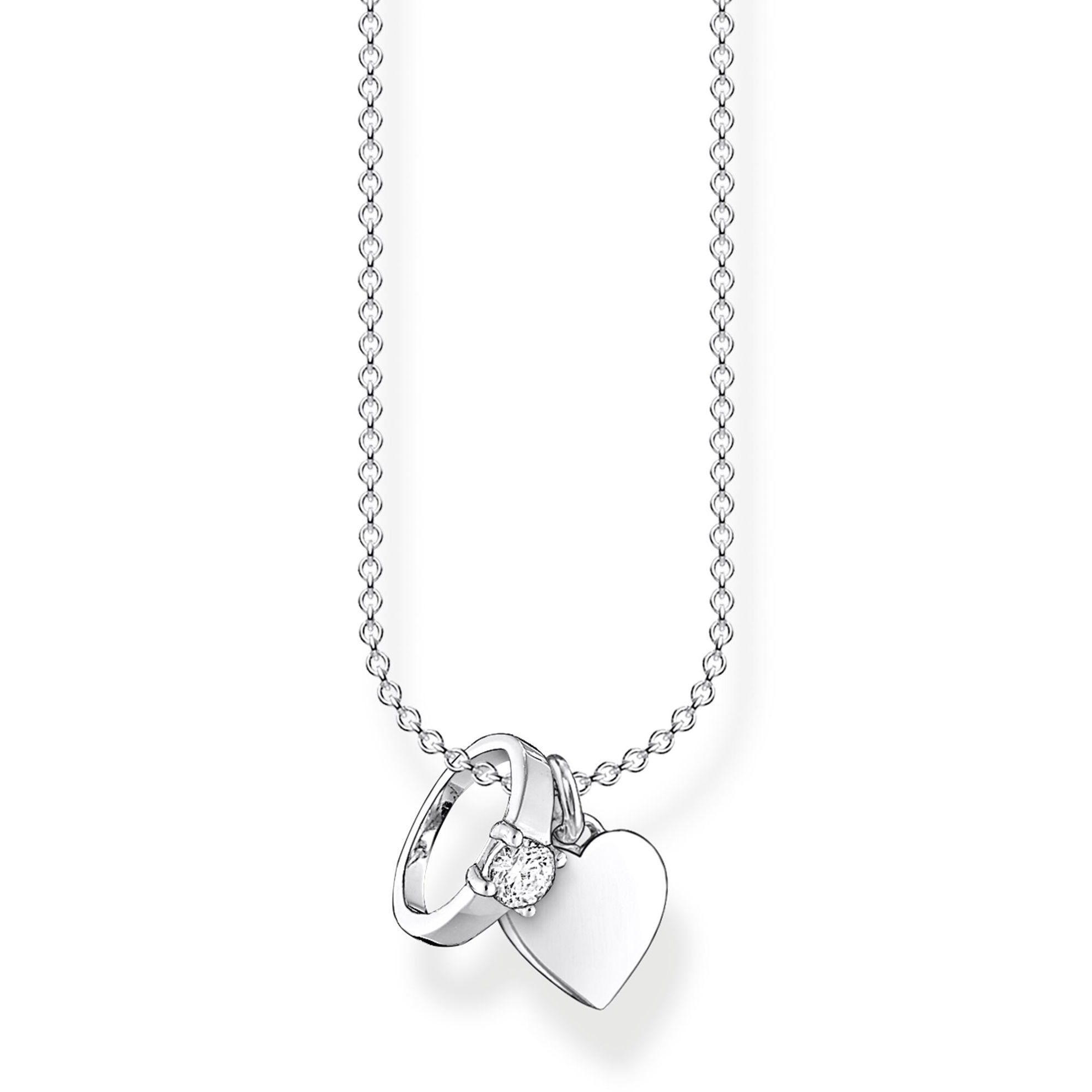Picture of Ring and Heart Necklace