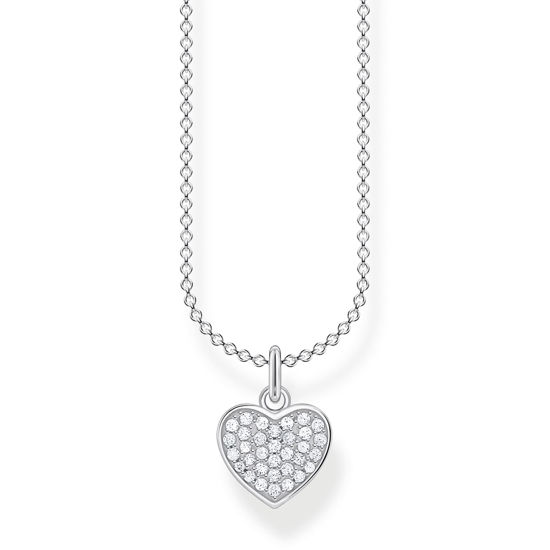 Picture of Heart Pave Necklace