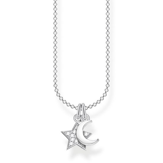 Picture of Moon and Star Necklace