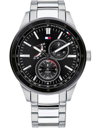 Picture of Austin Stainless Steel Black Chronograph Dial Bracelet Watch