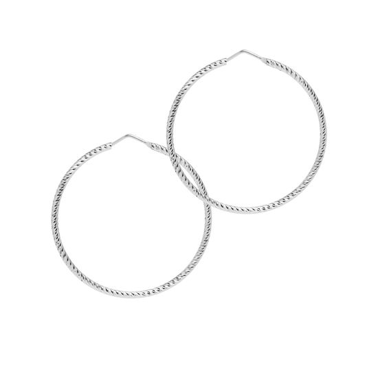 Picture of The Hoop Station La Roma Silver 45mm