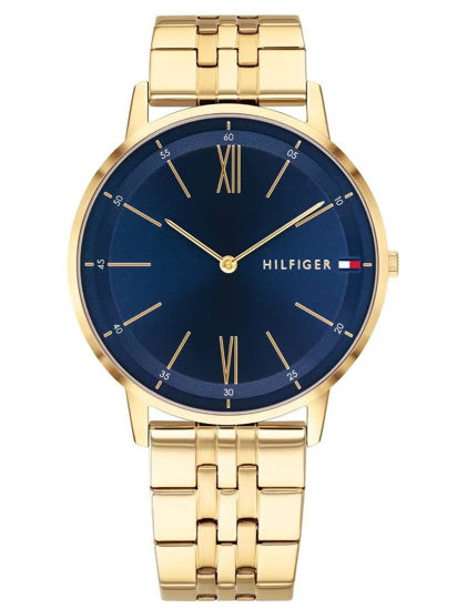 Picture of Cooper Gold Plated Blue Dial Bracelet Watch
