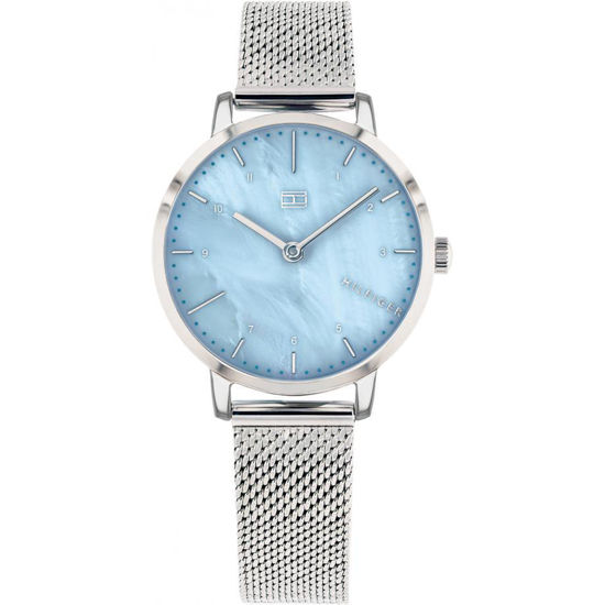 Picture of Womens Analogue Classic Quartz Watch with Stainless Steel Strap