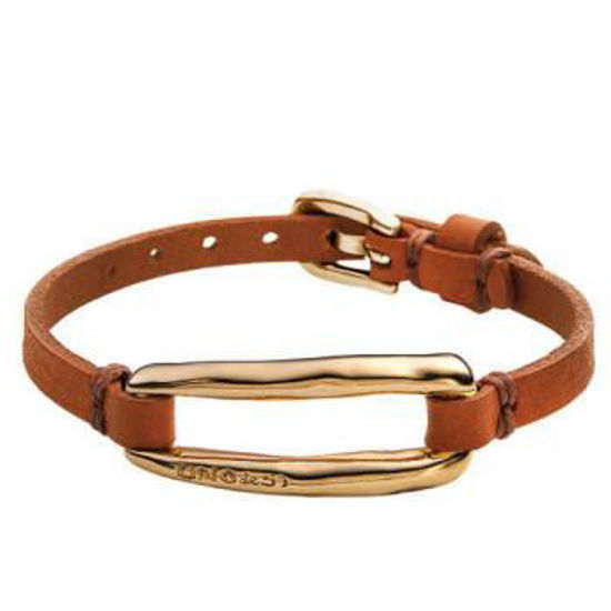 Picture of Camel Leather Bracelet - Tie Me