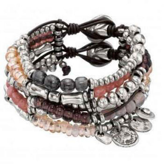 Picture of Rose colored crystal bracelet - Florida