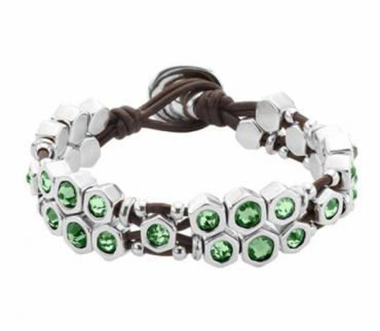 Picture of Bracelet Green Crystals - Honey Moon