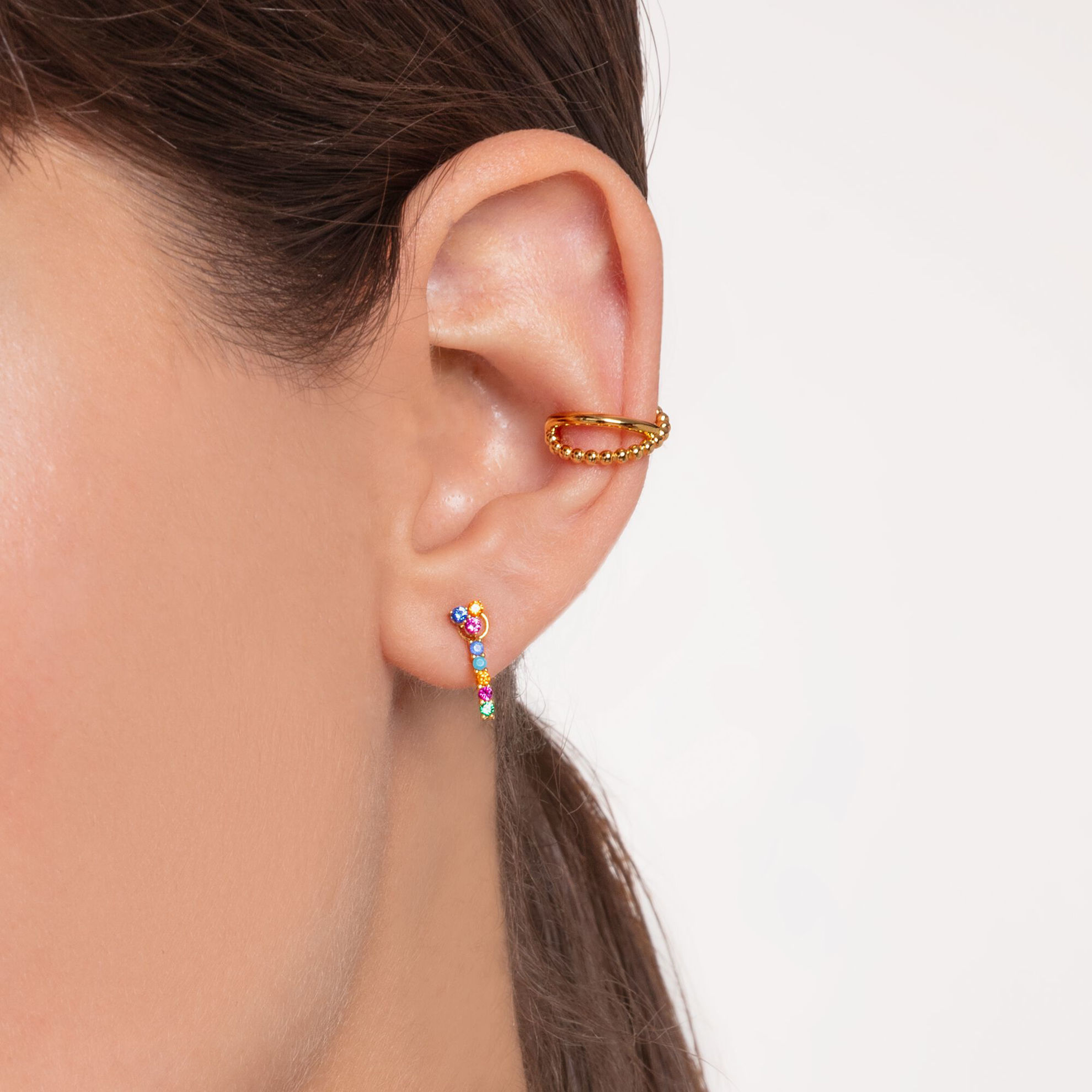 Picture of Cross Over Ear Cuff in Gold