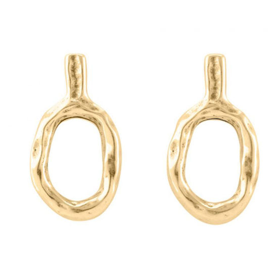 Picture of Escota Oval Drop Earrings