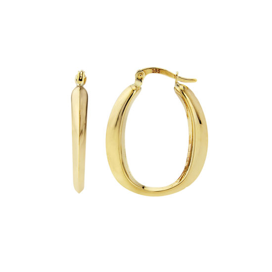 Picture of 9ct Yellow Gold Hoops