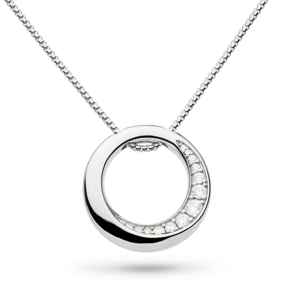 Picture of Bevel Cirque CZ Reversible Necklace