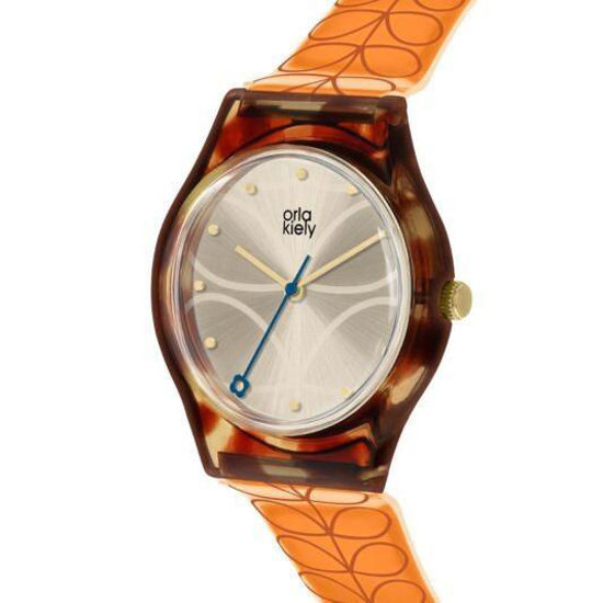 Picture of Orla Kiely Tortoiseshell & Multi Stem Bobby Watch