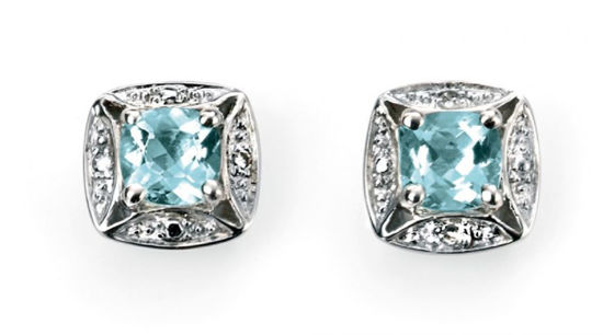 Picture of Aquamarine Studs
