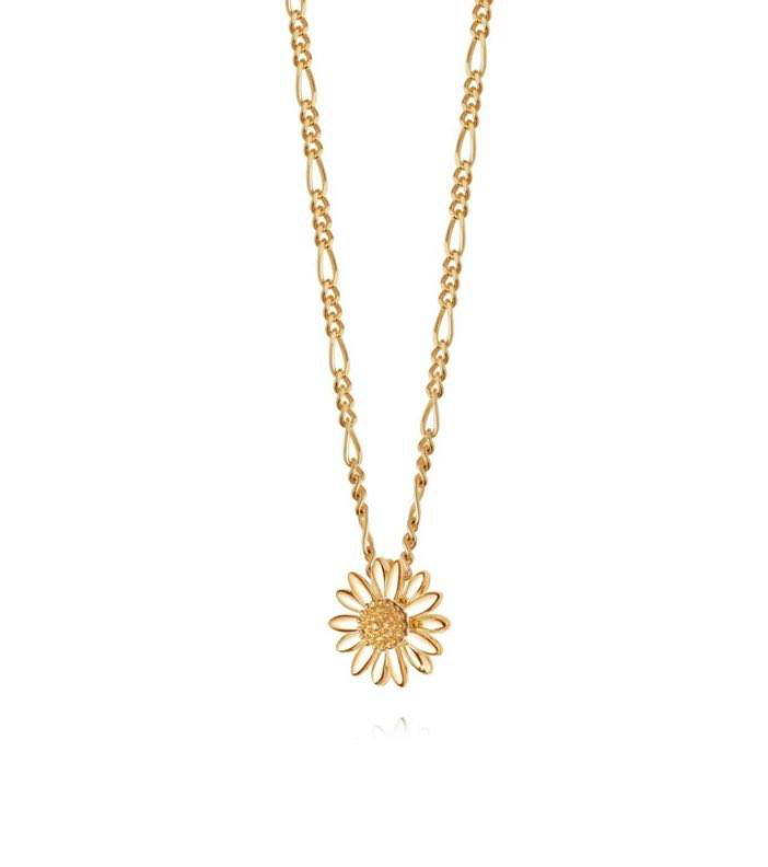 Picture of English Gold Daisy Necklace