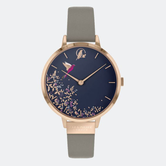 Picture of NAVY HUMMINGBIRD GREY WATCH