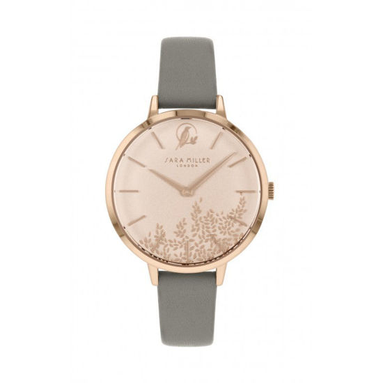 Picture of Rose Gold Detail Leaf